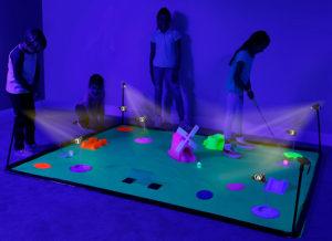 4FUN Deluxe Cosmic Glow Mini Golf FUN008 from B4 Adventure
