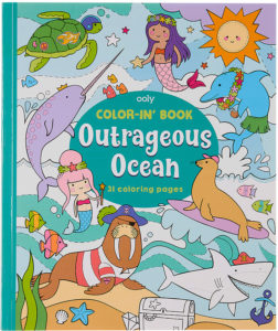 Color In Book Outrageous Ocean 118205 from OOLY