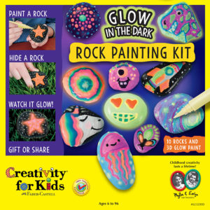 Glow in the Dark Rock Painting Kit 6232000 from Faber Castell