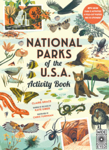 National Parks of the USA Activity Book 9780711253292 from Quarto Group
