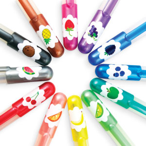 Yummy Yummy Scented Glitter Gel Pens Set of 12 2 13214 from OOLY